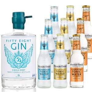 58 Gin and Fever-Tree Tasting Pack