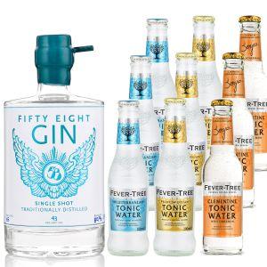 58 Gin en Fever-Tree Proefpakket