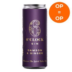 6 O'Clock Damson & Ginger Gin & Tonic 250ml