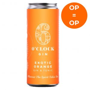 6 O'Clock Exotic Orange Gin & Tonic 250ml short date 06/21