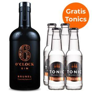 6 O'Clock Brunel Gin Promopakket