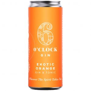 6 O'Clock Exotic Orange Gin & Tonic 250ml