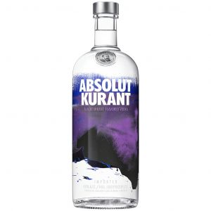 Absolut Kurrant Vodka 1L