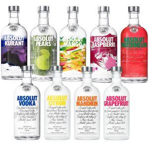 Absolut Vodka 3 for €45