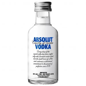 Absolut Vodka (Mini) 5cl