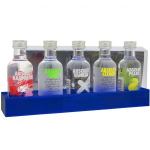 Absolut Vodka Tasting Pack 5 x 5cl