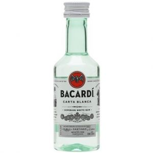 Bacardi Carta Blanca Rum 5cl