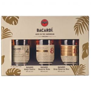 Bacardi Aged in the Caribbean Discovery Pack 3 x 10cl