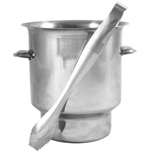 Bar Professional Ice Bucket & Tongs