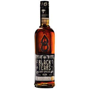 Black Tears Dry Spiced Rum 70cl