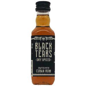 Black Tears Dry Spiced Rum Mini 5cl