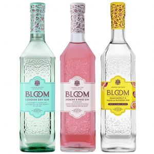 Bloom Gin Trio Pack 3 x 70cl