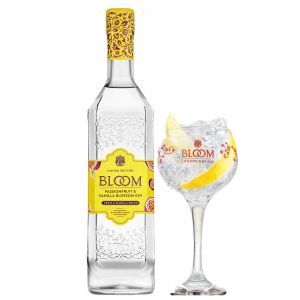 Bloom Passion Fruit and Vanilla Gin 70cl Promo Pakket