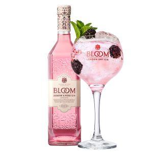 Bloom Jasmine and Rose Gin 70cl Promo Pakket