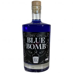 Blue Bomb Dry Gin 50cl