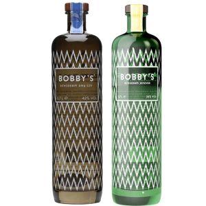 Bobby's Schiedam Dry Gin en Jenever Tweepakket 2 x 70cl