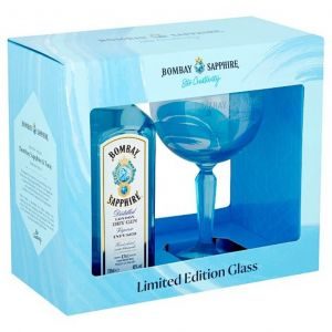Bombay Sapphire Gin Giftpack 70cl