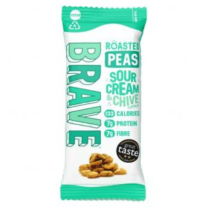 Brave Roasted Peas Sour Cream & Chive 35g