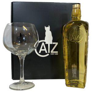 Catz Dry Gin 70cl Cadeaupakket