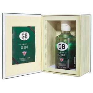 Chase GB Extra Dry Gin 20cl Giftbook