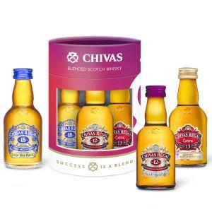 Chivas Regal Tasting Set 3 x 5cl