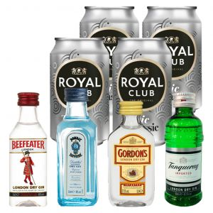Classic Gin and Royal Club Tonic Tasting Pack