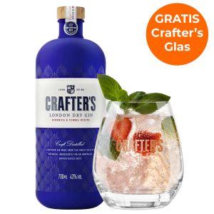 Crafter's London Dry Gin Promopakket 70cl