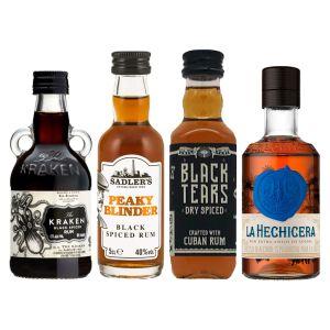 Dark Rum Tasting Set 4 x 5cl