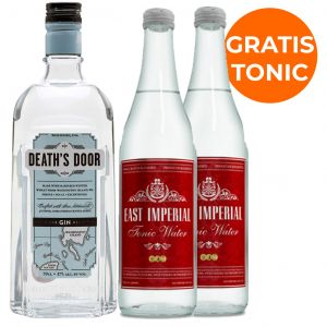 Death's Door Gin 70cl Promopakket