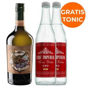 Del Professore Crocodile Gin 70cl Promo Pack