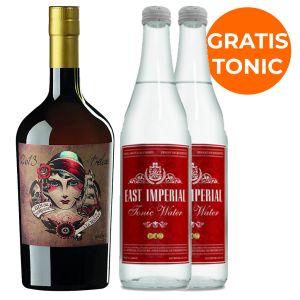 Del Professore Madame Gin 70cl Promopakket