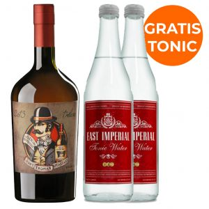 Del Professore Monsieur Gin 70cl Promo Pack