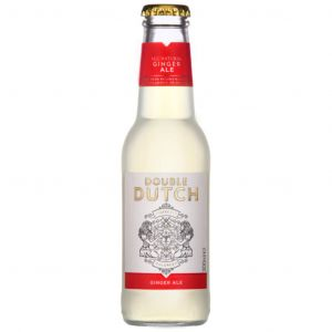 Double Dutch Ginger Ale 200ml Short BBE 05/21