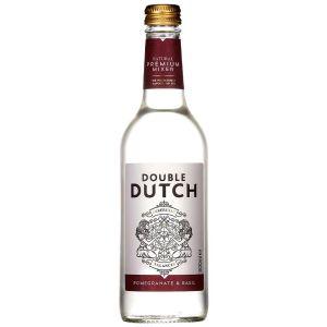 Double Dutch Pomegranate & Basil Tonic 500ml Short Date BBE 07/21