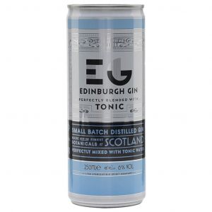 Edinburgh Gin & Tonic Blikje 250ml