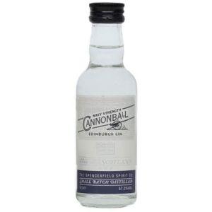 Edinburgh Gin Navy Strength Cannonball Mini 5cl