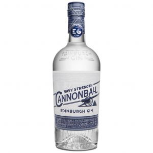 Edinburgh Gin Navy Strength Cannonball 70cl