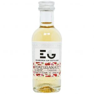 Edinburgh Gin Pomegranate & Rose Liqueur Mini 5cl