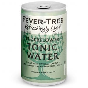 Fever-Tree Refreshingly Light Elderflower Tonic Water 150ml