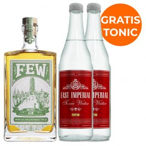 Few Barrel Aged  Gin 70cl Promo Pack