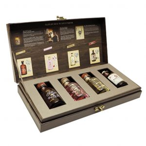 Filliers Dry Gin Miniature Collection 4 x 5cl