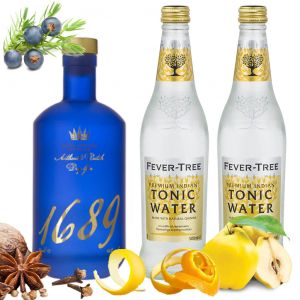 Gin 1689 and Tonic Pack 70cl & 2 x 500ml