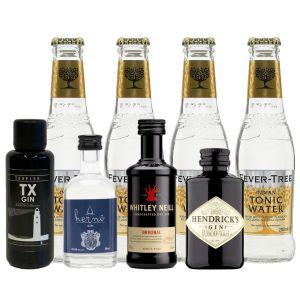 Gin & Fever-Tree Tonic Premium Tasting Pack