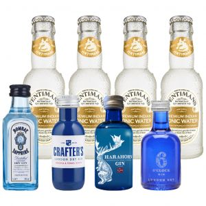 Gin and Fentimans Tonic Tasting Pack