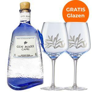 Gin Mare Capri 1L Promopakket