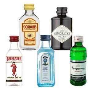 Gin Proefpakket - Klassiekers (5 x 5cl)