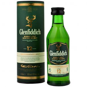 Glenfiddich 12 Year Whisky (Mini) 5cl