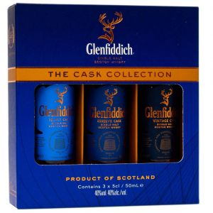 Glenfiddich The Cask Collection 3x5cl