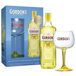 Gordon's Sicilian Lemon Gin 70cl Cadeaupakket