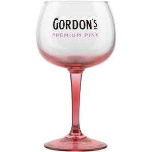Gordon's Pink Copa Glass
